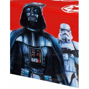 Deguisetoi Nappe plastique Star Wars Final Battle 120 x 180 cm