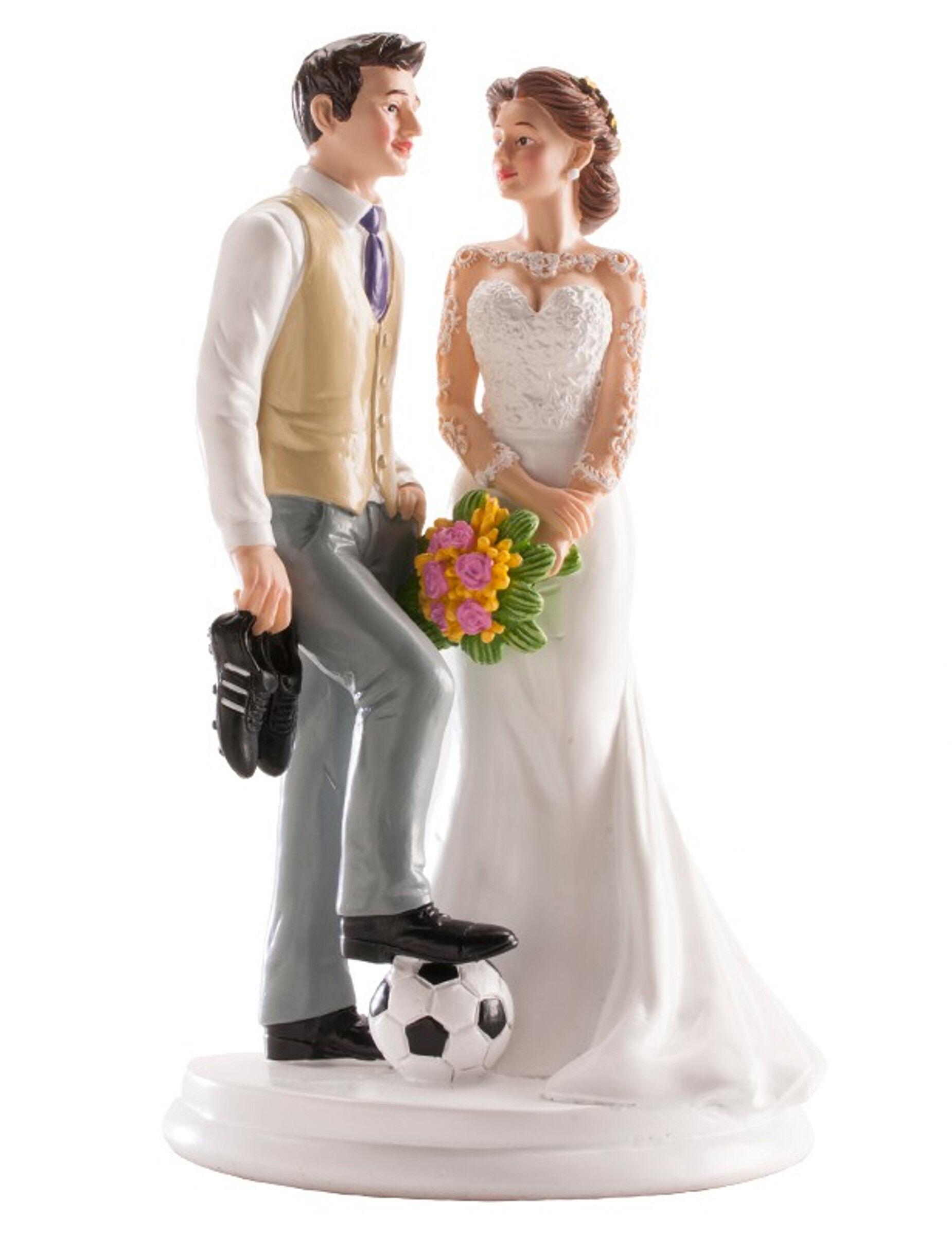 Deguisetoi Figurine mariage couple humoristique