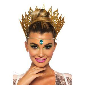 Deguisetoi Couronne reine dorée sexy femme