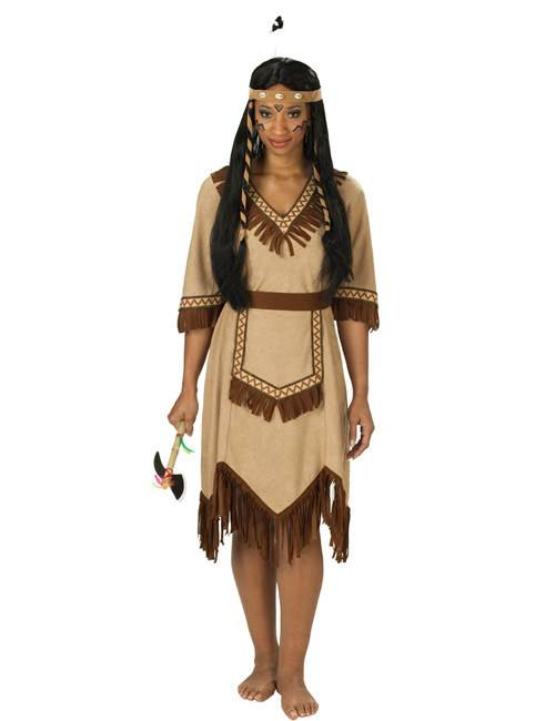 Deguisetoi Déguisement indienne Apache femme - Taille: Small