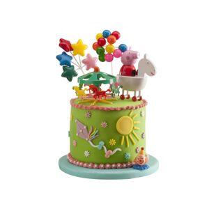 Deguisetoi Kit de décorations gâteaux Peppa Pig