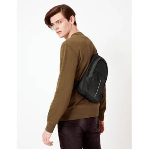 Marks & Spencer Pro-tect™– Sac à dos fin style sport Charcoal taille : Taille unique male