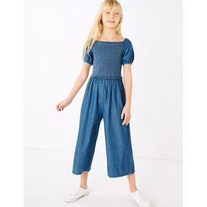 Marks & Spencer Combinaison en jean à détail froncé (du 6 au 16ans)
