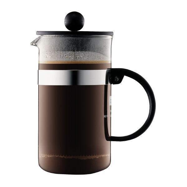 Bodum BISTRONOUVEAU Cafetière à piston, 3 tasses, 0.35 l Noir