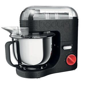 Bodum BISTRO Robot de cuisine électrique, 700 W, bol inox 4.7 l  Noir