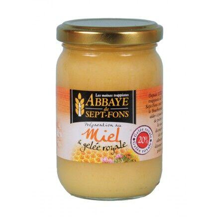 Abbaye de Sept-Fons Miel & 20% Gelee Royale - 250 G - Abbaye De Sept-fons