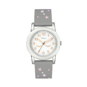 s.Oliver Montre-bracelet female gris- -