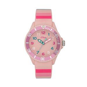 s.Oliver Montre-bracelet male pink- -
