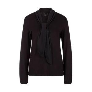 s.Oliver Haut à manches longues en jersey female noir- 36