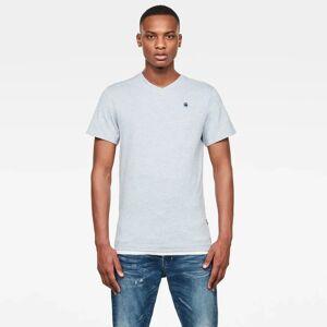 G-Star RAW Hommes T-shirt Base-S Bleu moyen - S M XS L