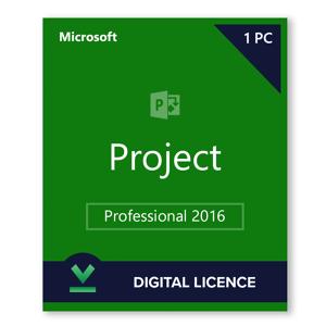 Microsoft Project 2016 Professionnel - Licence numérique - Logiciel en téléchargement