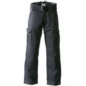 John Doe Cargo Regular Pantalon noir Noir 30