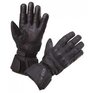 Modeka Stavanger Mesdames les gants de moto Noir XS
