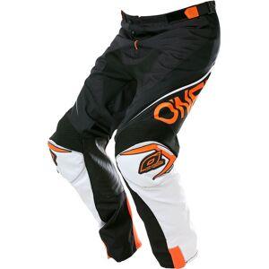 Oneal O´Neal Mayhem Lite Blocker Pantalon de motocross Noir Blanc Orange 28