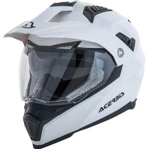 Acerbis Flip FS-606 Casque Enduro Blanc L