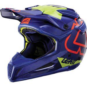 Leatt GPX 5.5 Composite V15 Casque de motocross Vert Bleu S