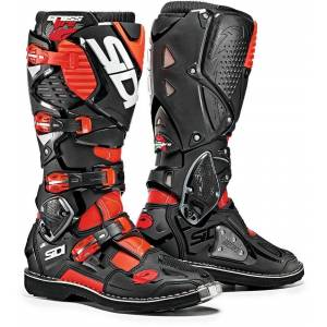 Sidi Crossfire 3 Motocross Boots Bottes Motocross Noir Rouge 40