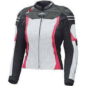 Held Street 3.0 Veste de cuir moto femmes Blanc Rose 44