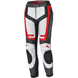 Held Rocket 3.0 Veste de cuir moto femmes Blanc Rouge 44