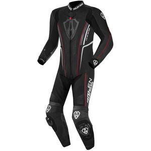 Arlen Ness Losail Costume en cuir one piece Noir Blanc Rouge 60