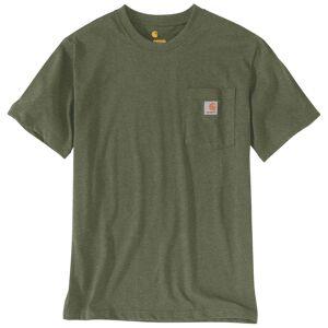 Carhartt Workwear Pocket T-Shirt T-Shirt Vert Brun XL