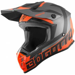 Bogotto V332 Unit Casque de motocross Orange M