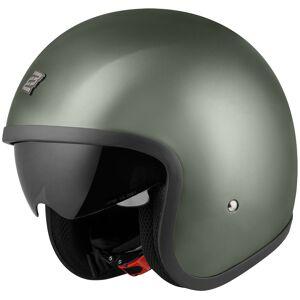 Bogotto V537 Solid Jet Helmet Casque Vert L