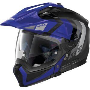Nolan N70-2 X Decurio N-Com Casque Noir Bleu XL