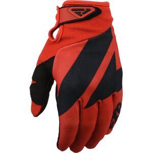 FXR Clutch Strap Gants Motocross Noir Rouge XL