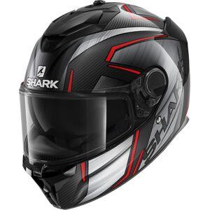 Shark Spartan GT Carbon Kromium Helmet Casque Noir Rouge S
