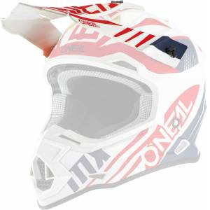 Oneal 2Series Spyde 2.0 Pic casque Blanc Rouge unique taille