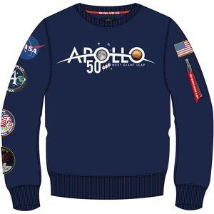 Alpha Industries Alpollo 50 Patch Sweatshirt Bleu S
