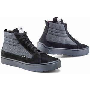 TCX Street 3 Tex Chaussures de moto imperméables Noir Gris 42