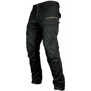 John Doe Defender Mono Pantalon textile moto Noir 38