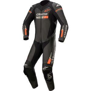 Alpinestars GP Force Chaser Costume en cuir de moto one piece Noir Rouge 64