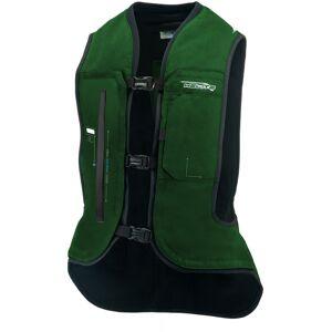 Helite e-Turtle Gilet airbag Vert M