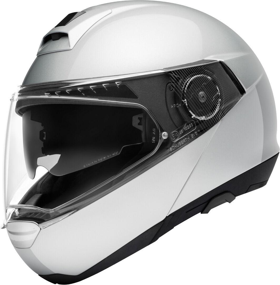 Schuberth C4 Pro Casque Argent XS