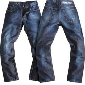 Rokker Revolution Jeans Pantalon de moto Bleu 30
