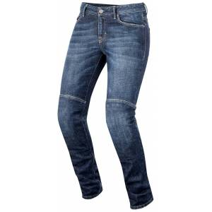 Alpinestars Daisy Pro Denim Jeans de moto de dames Bleu 28