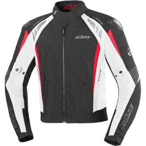 Büse B.Racing Pro Veste Textile moto Noir Blanc Rouge XL