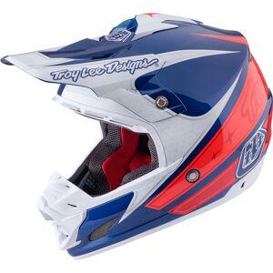Troy Lee Designs SE3 Corse 2 Motorcycle Cross Helmet Casque de croix de moto Bleu S