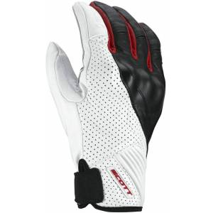 Scott Lane 2 Gants de moto Blanc Rouge 2XL
