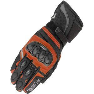Orina Splash Gants de moto Noir Orange 2XL