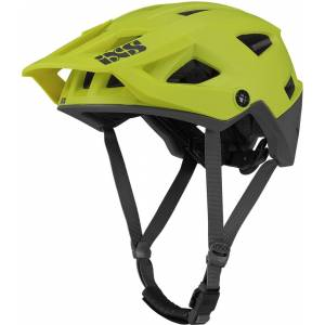 IXS Trigger AM Casque de bicyclette Noir Vert S M