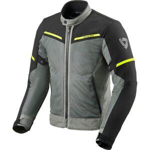 Revit Airwave 3 Veste textile de moto Noir Gris Jaune L