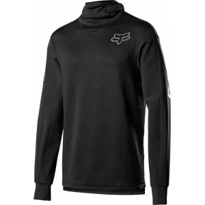FOX Defend Thermo Hooded Maillot motocross Noir M