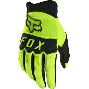 FOX Dirtpaw Gants de Motocross Noir Jaune XL