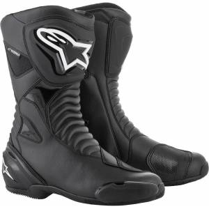 Alpinestars SMX S Waterproof Bottes de moto Noir 40