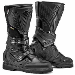 Sidi Adventure 2 Gore-Tex Motorcycle Boots Bottes de moto Noir 49