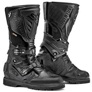 Sidi Adventure 2 Gore-Tex Motorcycle Boots Bottes de moto Noir 40